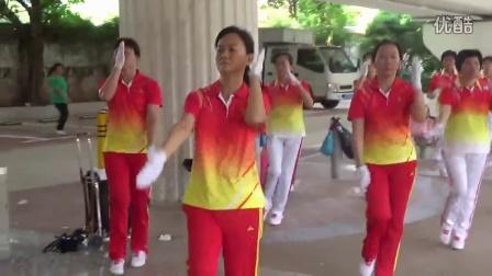 深圳梦之队东门分?#21451;?#32451;梦之队第九套快乐之舞健身操