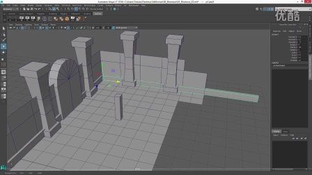 03-Blockout in Maya