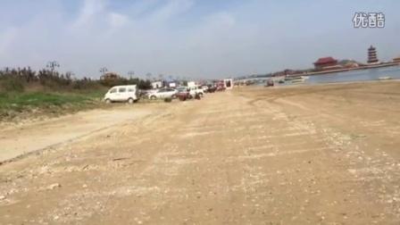 猎豹Q6 2015款2.4四驱中国烟台黄海之滨海滩撒欢视频
