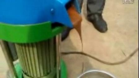 圣鸿磨芝麻酱机花生酱机视频