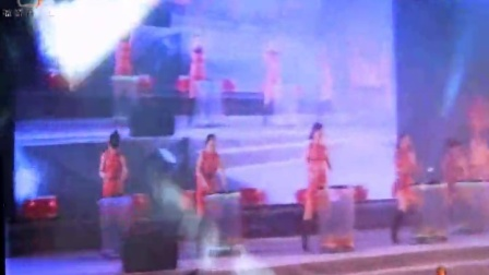 深圳水鼓舞培训--深圳赢家服饰有限公司2012年年会