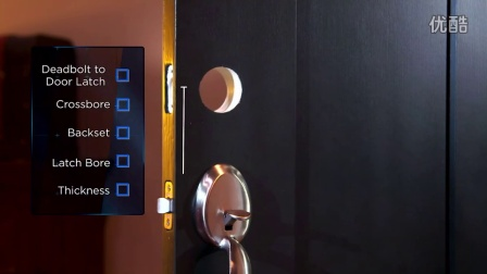 Schlage Keypad Deadbolt Door Prep Checklist