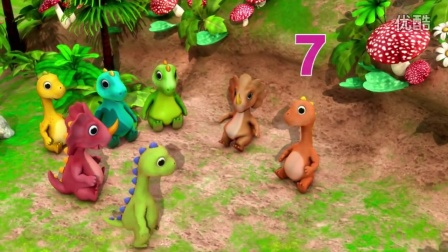 Ten Little Dinosaurs _ Nursery Rhymes
