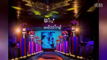 双流挚爱婚庆篮球主题婚礼西式暗场分享