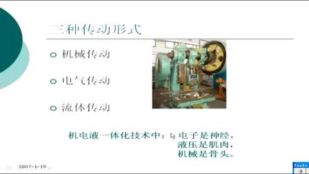 液压与气动技术 深圳职业技术学院 朱梅 62讲  精品视频