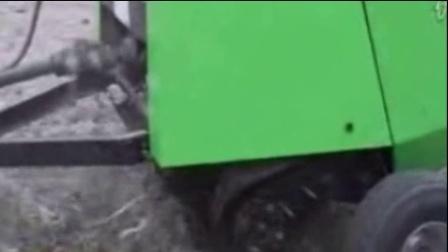 玉米秸秆粉碎打捆一体机收割打捆机揉搓打捆机视频