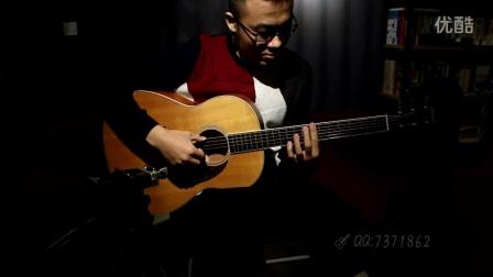 吉他指弹 无名布鲁斯 羽翼吉他