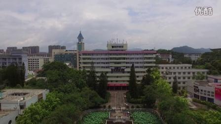 DJl大疆精灵航拍梅州嘉應學院