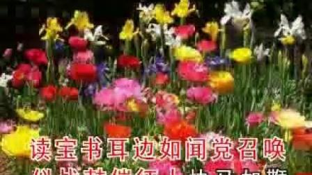 晋剧唱段 李月萍-《龙江颂》手捧宝书满心暖
