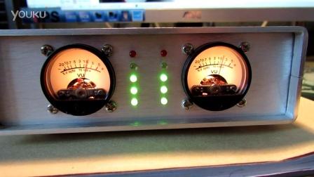 《 云外天》 设计制作音频信号 电平表VU表 指示器视频效果