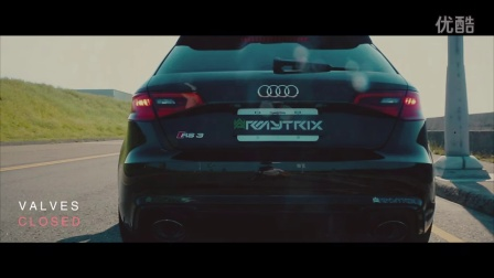 NEW Audi RS3 Sportback 《8V MQB》 ARMYTRIX Advance Variable Exhaust Sounds