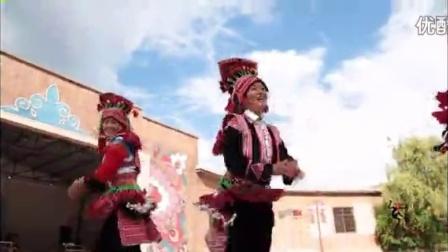 云南红河州石屏慕善村花腰彝族花腰歌舞