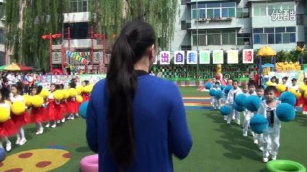 """东湖幼儿园中二芽芽班团体操""""跳起来"""""""