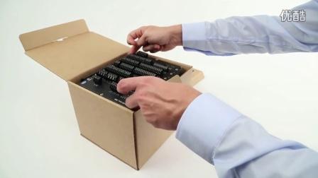 DEIF PPM300 开箱检查2 (控制模块)Unboxing the PPM 300 rack