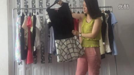 品牌杂款女装夏装连衣裙走份 超低价限购 100一份1300包邮 浩宇服饰第31期