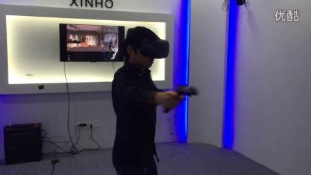 VR虚拟现实的枪战游戏