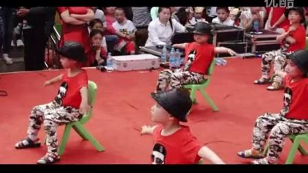 英豪镇中心幼儿园2016庆六一文艺演出    小班舞蹈 爵士小男孩