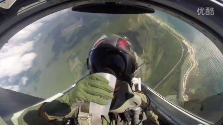 重力挑战:在战斗机上倒水