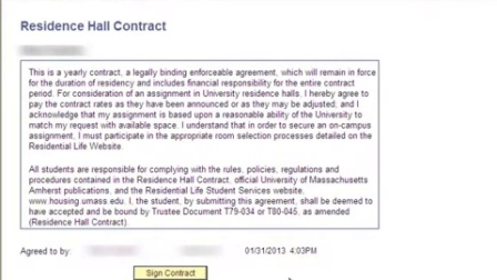Requesting an Appointment - UMass Amherst