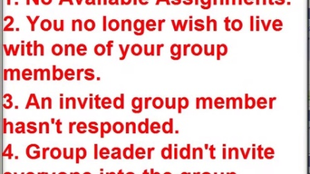 Dissolving a Roommate Group Leader Only - UMass Amherst