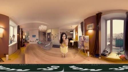 玛格丽塔的性感嘴唇-全景VR视频