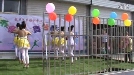济南市天桥区桑梓店镇起点文化艺术培训中心七级舞蹈《拾豆豆》