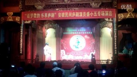 庐剧 盛小五从艺三十周年庆典之秦雪梅游园观画20160617