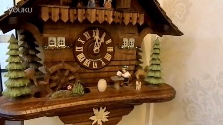 用了十年的德国黑森林钟表挂钟维修后