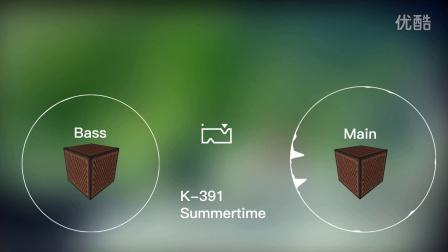 [音mad?]用Minecraft音符盒演奏K-391 - Summertime