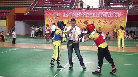 双节棍王实战对抗(十五)2015WNKA国际双节棍王争霸赛