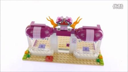 [速拼测评]]乐高 女孩系列 41132 心湖城派对用品商Lego Friends