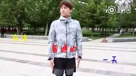 """李易峰  朋友问我:""""为什么跪着看视频?我把视频给他看,然后他扑通一下就跪下"""