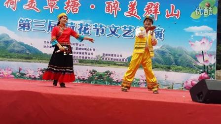 壮话山歌《美丽新覃塘》表演者:滕玉芬-陆营