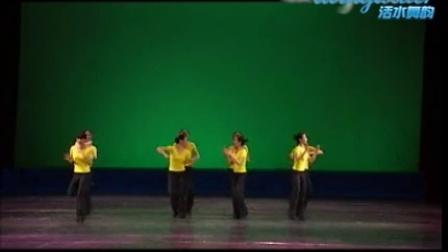 中国舞蹈家协会考级十级三2-单舞步大齐舞 ---活水舞韵