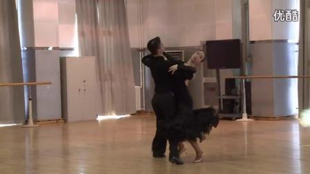 摩登舞教学-快步合集