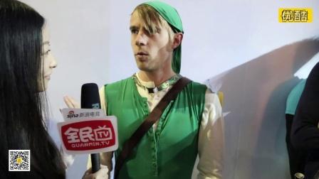 """全民逛E3第三天 会场采访""""高能""""国外玩家"""