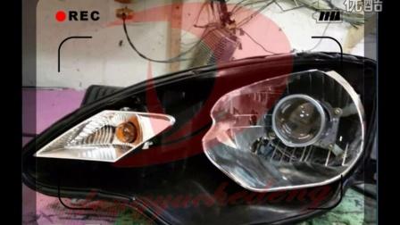 名爵3车灯改装升级 天使眼恶魔眼 日行灯兰州灯语车灯改装 海拉Q5 博士  甘肃兰州语级车灯改装 大灯总成 透镜改装 自由者改灯联盟兰州改灯