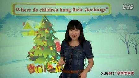 【三年级英语】:白色圣诞节1