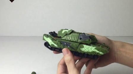 锦江变形玩具迷彩军事系列装甲坦克602A
