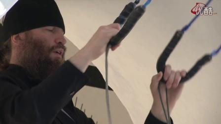 普斯科夫 - 佩乔尔斯卡娅修道院。视频片段