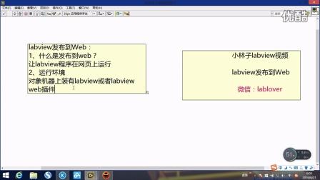 第十三期 labview发布到web
