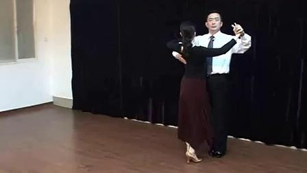 【交谊舞】慢四基本步教学_标清