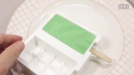 DIY如何制作颜色的酸奶牛奶冰淇淋食玩