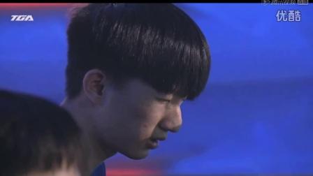 qq飞车2016TGA夏季总决赛明星表演赛罗伟谭伟仪vs张顺江章闯