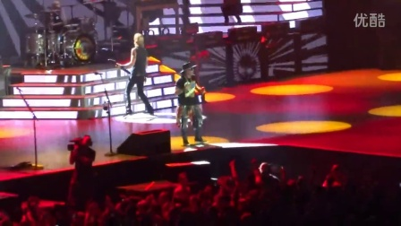 Guns N Roses - You Could Be Mine - Live at Ford Field in Detroit, MI on 6-23-16