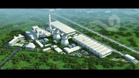 工业建筑三维动画-电厂规划动画-施工动画-热电厂三维动画 -巨浪文化