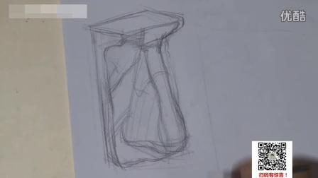 素描基础手绘动漫人物铅笔画_速写手_速写图片58