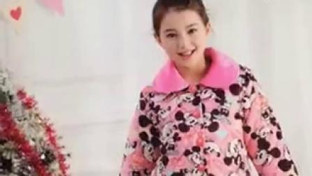 宝贝模特网儿童模特海伦拍摄冬季家居服平面广告花絮