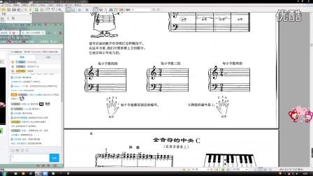 钢琴基础课第一节