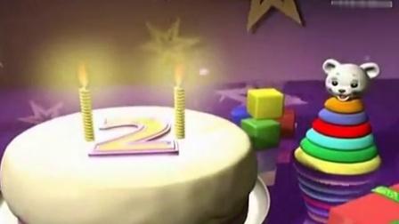 生日蛋糕视频素材庆祝派对LED 李小萌